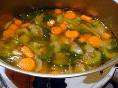 Kidney Friendly Vegetable Stock